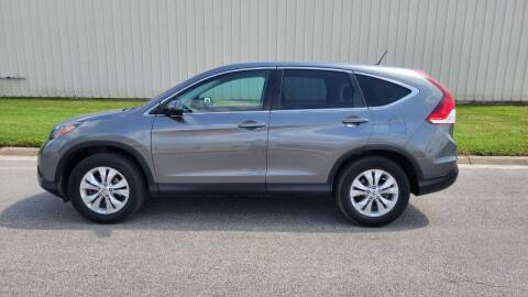 2014 Honda CR-V for sale at TNK Autos in Inman KS