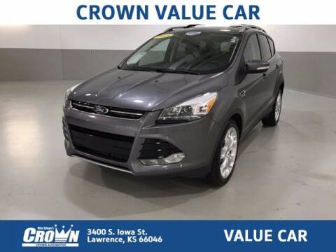 2013 Ford Escape for sale at Crown Automotive of Lawrence Kansas in Lawrence KS