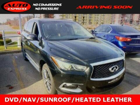 2016 Infiniti QX60 for sale at Auto Express in Lafayette IN