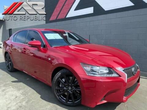 2013 Lexus GS 350 for sale at Auto Republic Fullerton in Fullerton CA