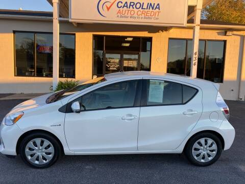 2014 Toyota Prius c for sale at Carolina Auto Credit in Youngsville NC