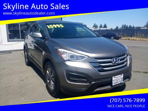 2016 Hyundai Santa Fe Sport for sale at Skyline Auto Sales in Santa Rosa CA