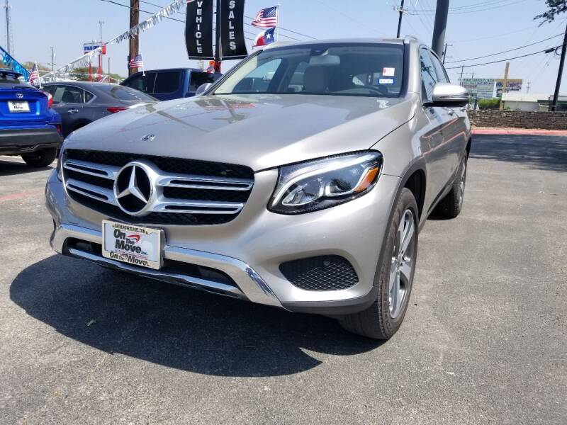 2019 Mercedes-Benz GLC for sale at ON THE MOVE INC in Boerne TX