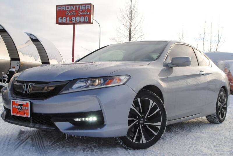2017 Honda Accord for sale at Frontier Auto & RV Sales in Anchorage AK