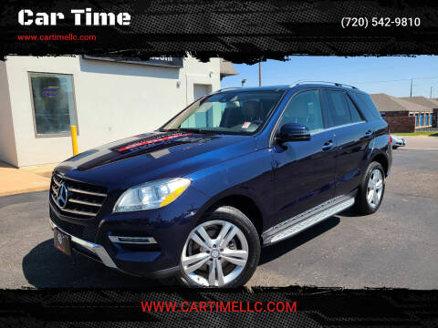 2014 Mercedes-Benz M-Class for sale at Car Time in Denver CO