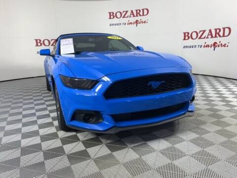 2017 Ford Mustang for sale at BOZARD FORD in Saint Augustine FL