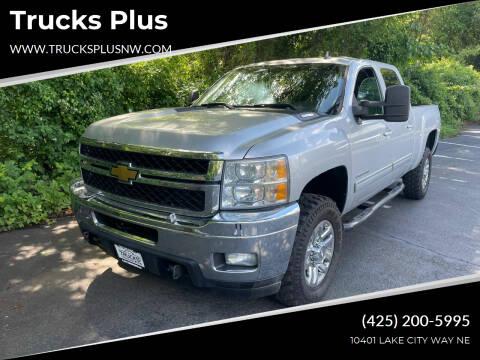 2011 Chevrolet Silverado 2500HD for sale at Trucks Plus in Seattle WA
