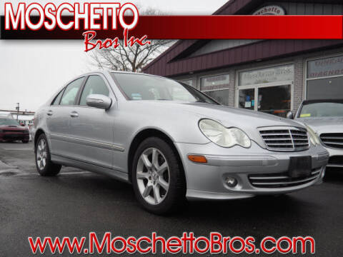 2007 Mercedes-Benz C-Class for sale at Moschetto Bros. Inc in Methuen MA