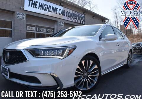 2018 Acura RLX for sale at The Highline Car Connection in Waterbury CT
