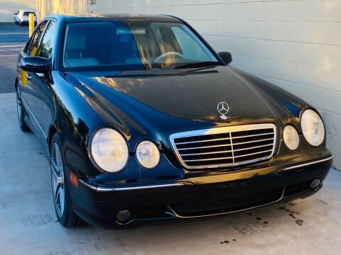 2001 Mercedes-Benz E-Class for sale at Auto Zoom 916 in Rancho Cordova CA
