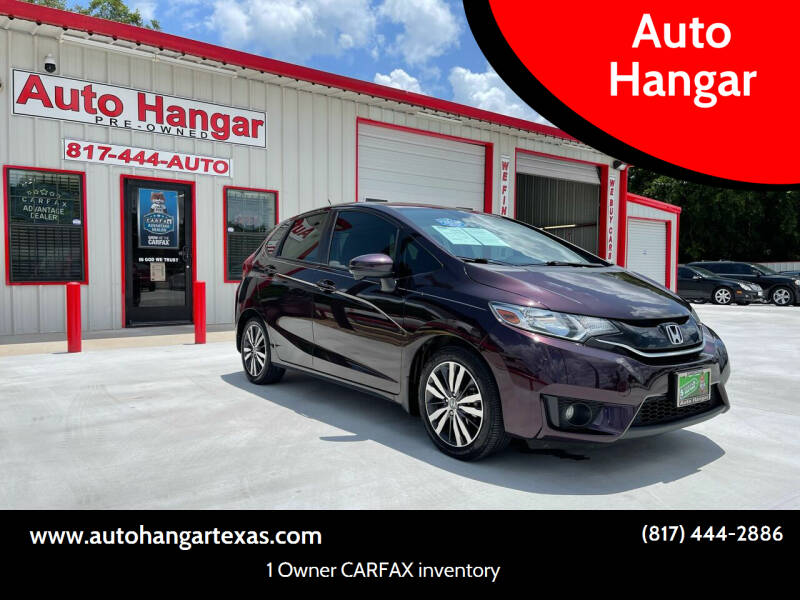 2015 Honda Fit for sale at Auto Hangar in Azle TX