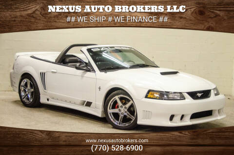 2001 Ford Mustang for sale at Nexus Auto Brokers LLC in Marietta GA