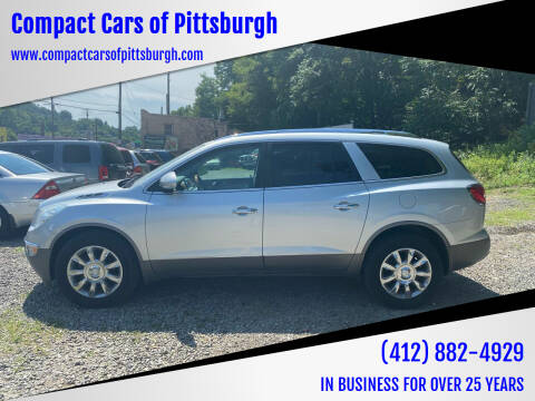 2011 Buick Enclave for sale at Compact Cars of Pittsburgh in Pittsburgh PA
