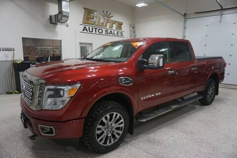 2017 Nissan Titan XD for sale at Elite Auto Sales in Ammon ID