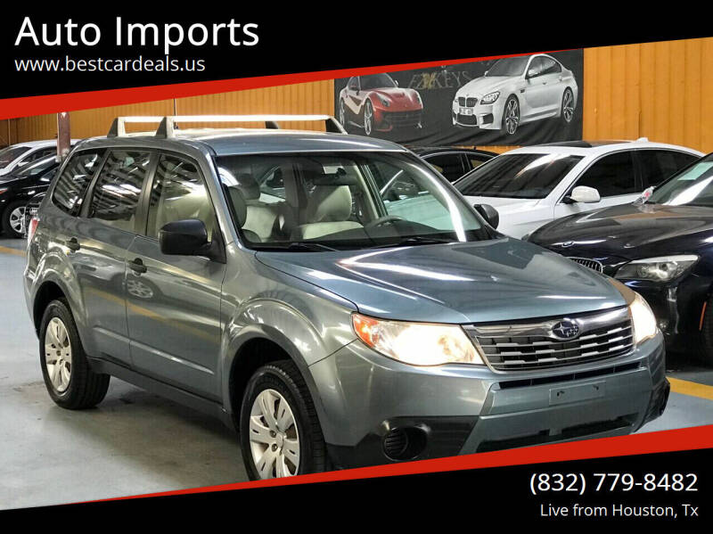 2009 Subaru Forester for sale at Auto Imports in Houston TX