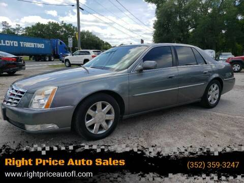 2006 Cadillac DTS for sale at Right Price Auto Sales in Waldo FL