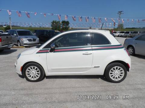2013 FIAT 500 for sale at Town and Country Motors in Warsaw MO