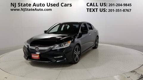 2016 Honda Accord for sale at NJ State Auto Auction in Jersey City NJ