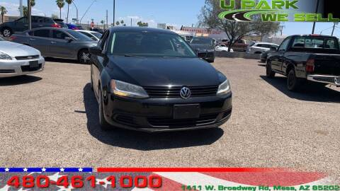 2013 Volkswagen Jetta for sale at UPARK WE SELL AZ in Mesa AZ