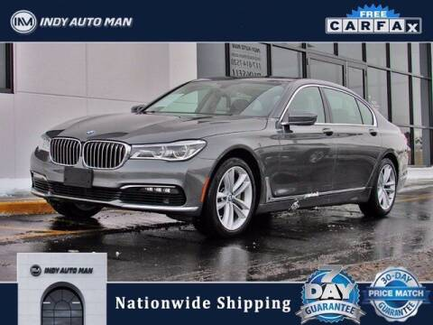 2017 BMW 7 Series for sale at INDY AUTO MAN in Indianapolis IN