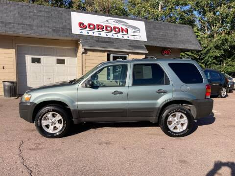 2007 Ford Escape for sale at Gordon Auto Sales LLC in Sioux City IA