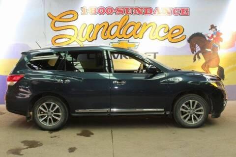 2014 Nissan Pathfinder for sale at Sundance Chevrolet in Grand Ledge MI