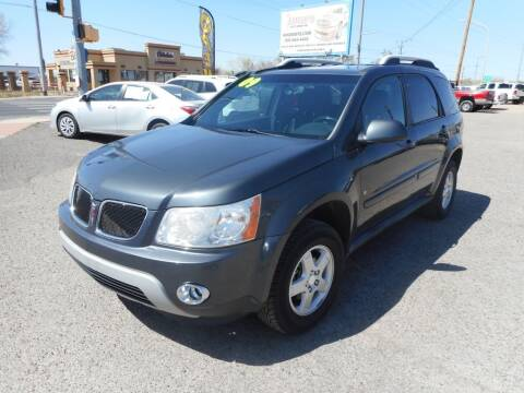 2009 Pontiac Torrent for sale at AUGE'S SALES AND SERVICE in Belen NM