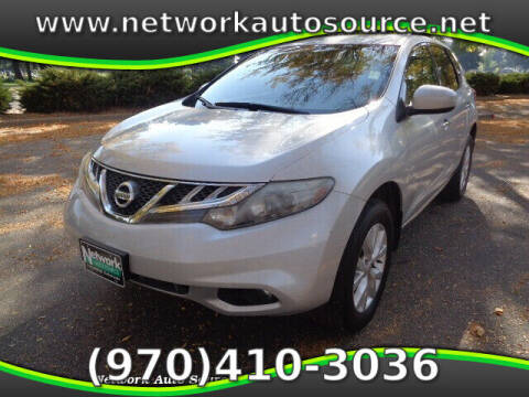 2014 Nissan Murano for sale at Network Auto Source in Loveland CO