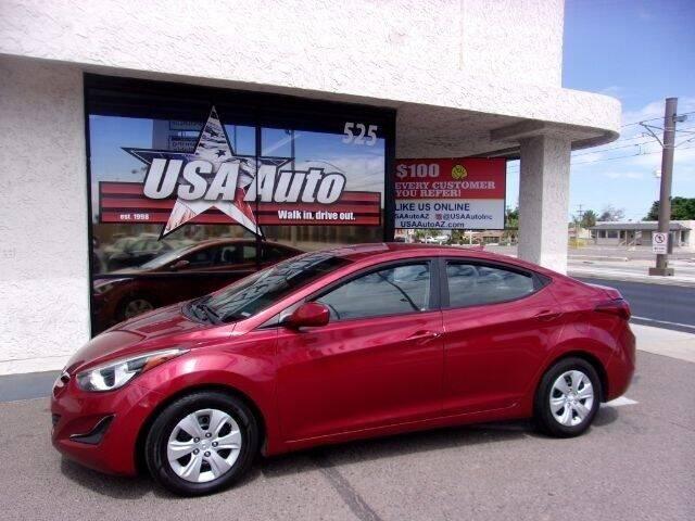 2016 Hyundai Elantra for sale at USA Auto Inc in Mesa AZ