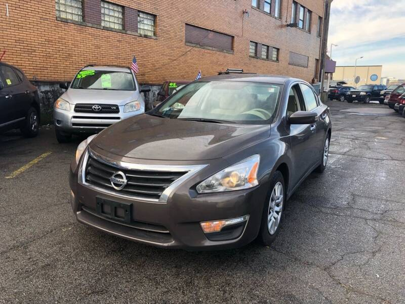 2015 Nissan Altima for sale at Rockland Center Enterprises in Roxbury MA