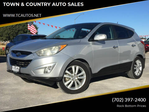 2012 Hyundai Tucson for sale at TOWN & COUNTRY AUTO SALES in Overton NV