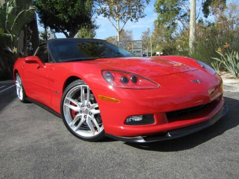 2007 Chevrolet Corvette for sale at ORANGE COUNTY AUTO WHOLESALE in Irvine CA