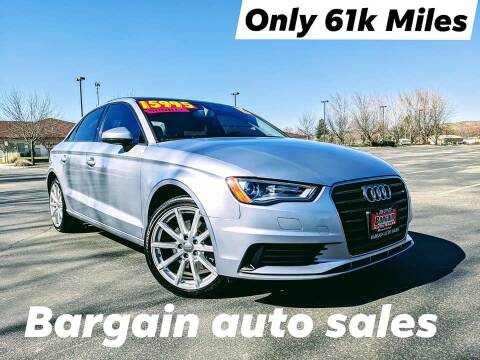 2015 Audi A3 for sale at Bargain Auto Sales LLC in Garden City ID