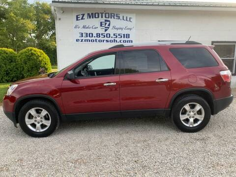 2011 GMC Acadia for sale at EZ Motors in Deerfield OH