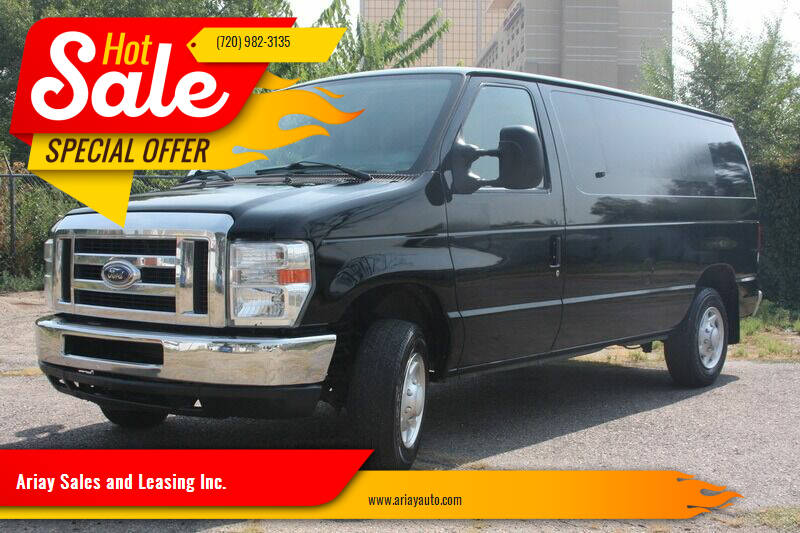 2014 Ford E-Series Cargo for sale at Ariay Sales and Leasing Inc. - Pre Owned Storage Lot in Denver CO