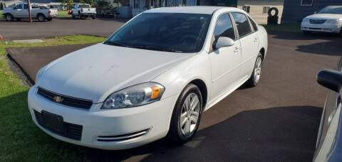 2011 Chevrolet Impala for sale at MGM Auto Sales in Cortland NY