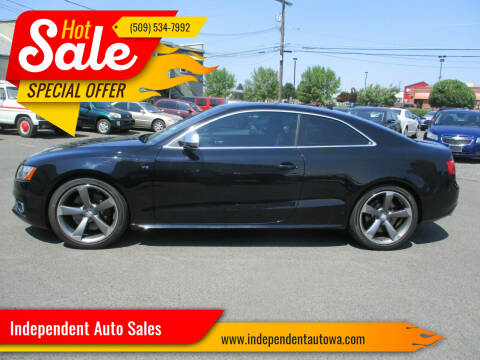 2009 Audi S5 for sale at Independent Auto Sales in Spokane Valley WA