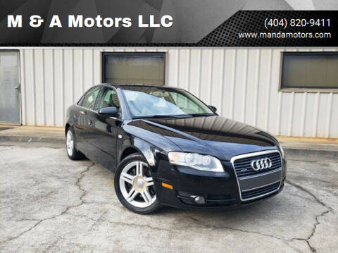 2006 Audi A4 for sale at M & A Motors LLC in Marietta GA
