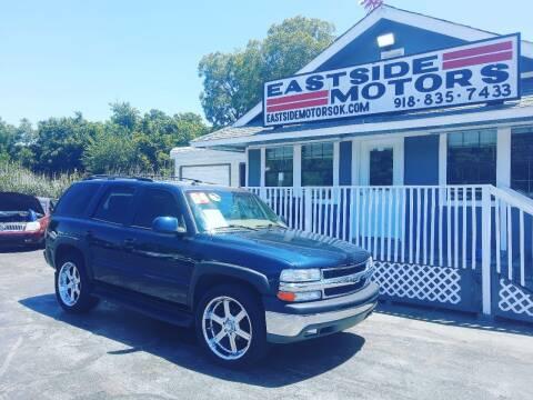 2004 Chevrolet Tahoe for sale at EASTSIDE MOTORS in Tulsa OK