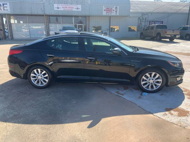 2015 Kia Optima for sale at Uncle Ronnie's Auto LLC in Houma LA