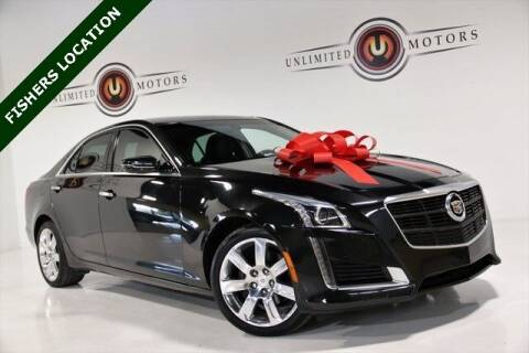 2014 Cadillac CTS for sale at Unlimited Motors in Fishers IN