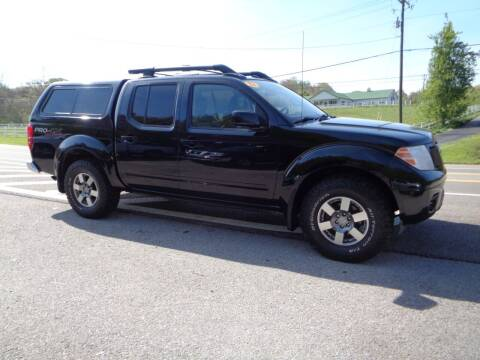 2012 Nissan Frontier for sale at Car Depot Auto Sales Inc in Seymour TN