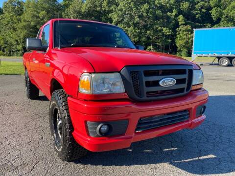 2008 Ford Ranger for sale at CVC AUTO SALES in Durham NC