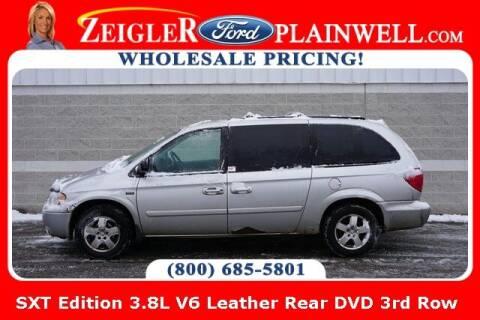 2007 Dodge Grand Caravan for sale at Zeigler Ford of Plainwell- michael davis in Plainwell MI