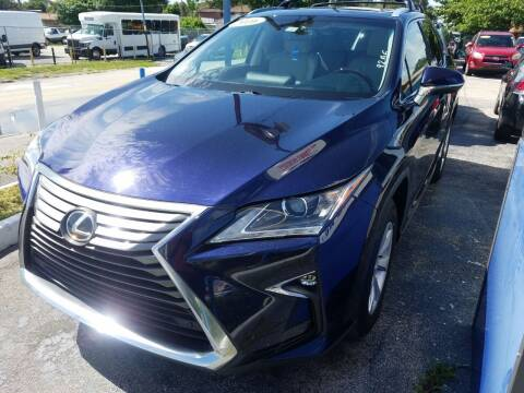 2016 Lexus RX 350 for sale at P S AUTO ENTERPRISES INC in Miramar FL