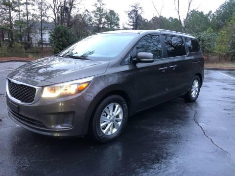 2016 Kia Sedona for sale at Judex Motors in Loganville GA