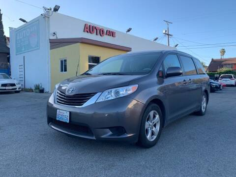 2014 Toyota Sienna for sale at Auto Ave in Los Angeles CA