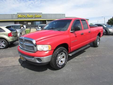 2005 Dodge Ram Pickup 1500 for sale at MIRA AUTO SALES in Cincinnati OH