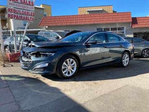 2020 Chevrolet Malibu for sale at STS Automotive in Denver CO