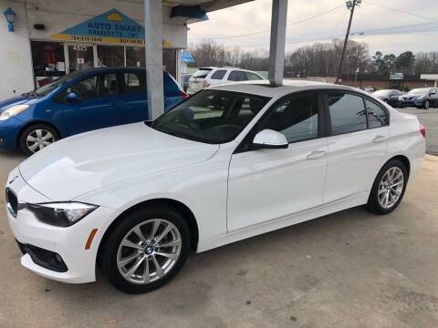 2017 BMW 3 Series for sale at Auto Smart Charlotte in Charlotte NC